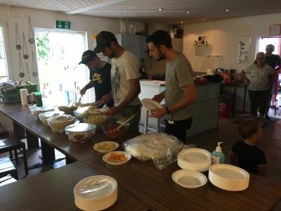 Salat buffet ergebnis